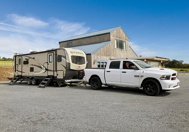 Now that the new tow vehicle (an American Dodge Ram 1500) has arrived, the Smiths are set for life on the road