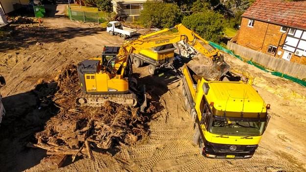 Kato-MR-HD514-excavator
