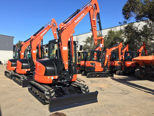 Kubota U55-4 excavator | Review