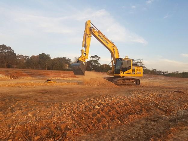 Queensland's first automatic Komatsu excavator | Product news