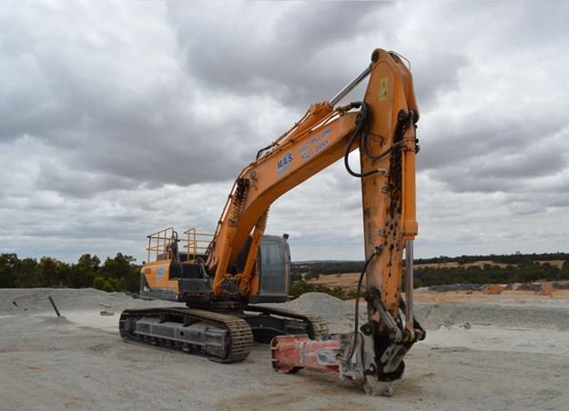 Hyundai-excavator