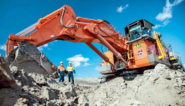 BHP-excavator