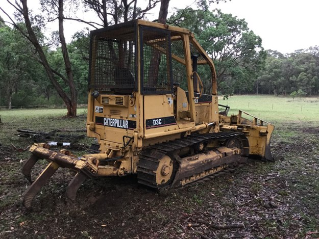 Caterpillar D3C dozer | Used Equipment Review