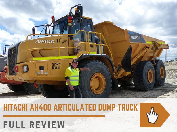 Hitachi AH400 articulated dump truck