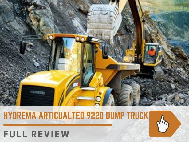 Hydrema 922D off road dump truck