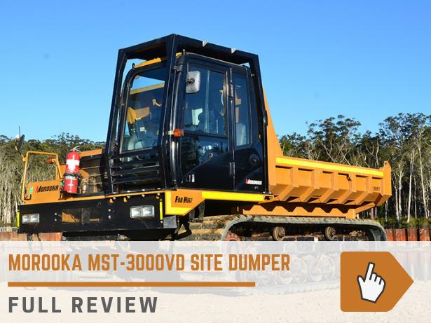 Morooka MST-3000VD site dumper