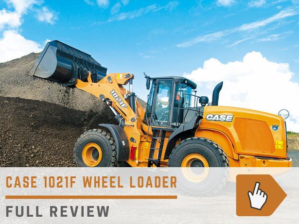 Case 1021F wheel loader