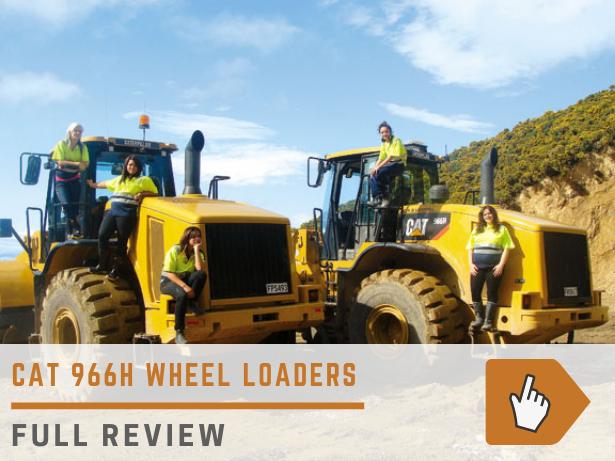 Cat 966H wheel loader