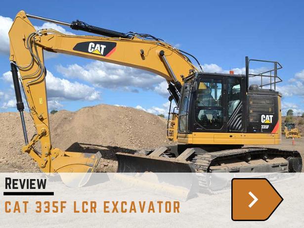 Cat 335LCR excavator