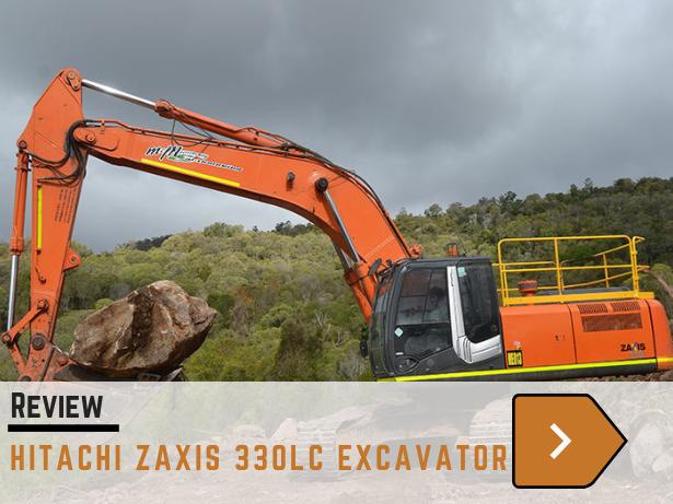 Hitachi Zaxis 330LC excavator