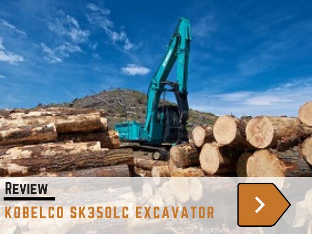 Kobelco SK350LC excavator