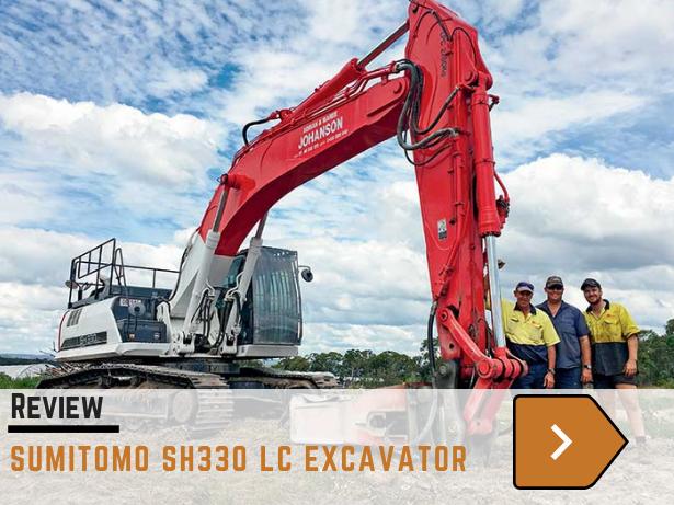 Sumitomo SH330 LC excavator
