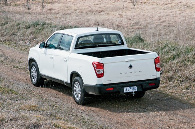 Ssangyong-Musso-XLV-ute