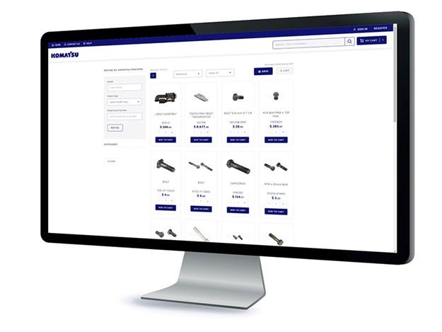 Komatsu-Online-Portal