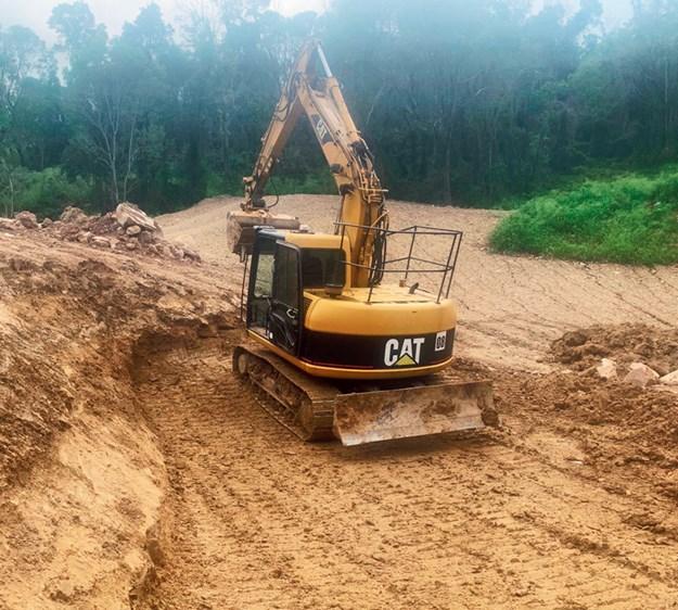 Cat-311CU-excavator