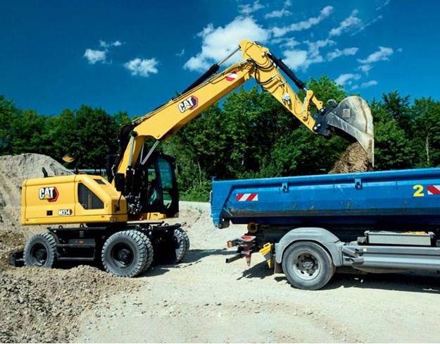 Cat-M314-wheeled-excavator