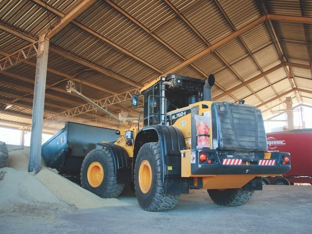 The Custom SBA bucket is three times the bucket size of the farms' previous wheel loader