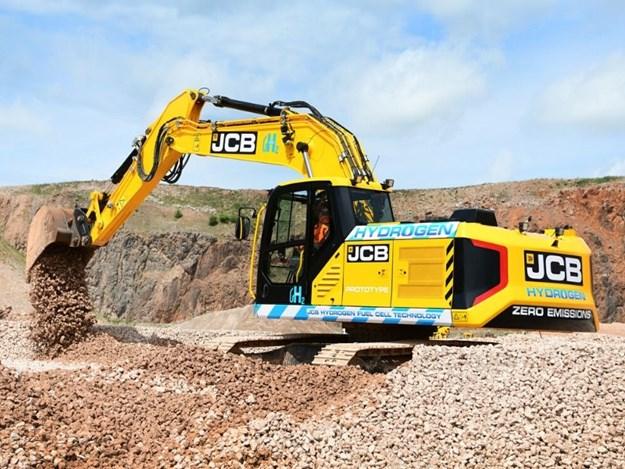 JCB's hydrogen-powered excavator