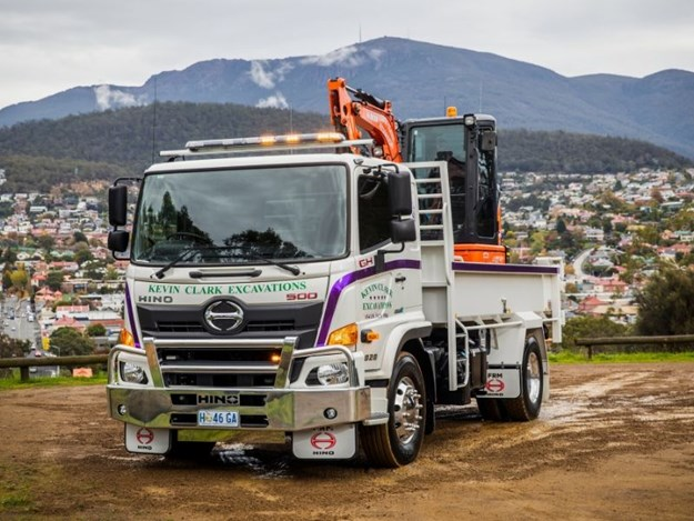 The purchase of a new Hino 500 Series Wide Cab is proof that evergreen owner-operator Kevin Clark has no plans to retire just yet