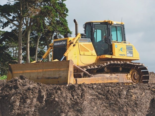 Having operated Komatsu machines since she was 15 with her parents' business, Wilson was determined her first machine would be a Komatsu, and it would be a dozer.
