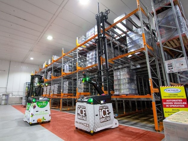 The system has reduced the manual pallet handling of repetitive tasks in a cold environment, improving safety and increasing accuracy