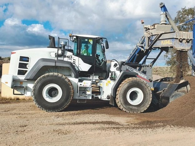 Hidromek's HMK640WL wheel loader has won several design awards