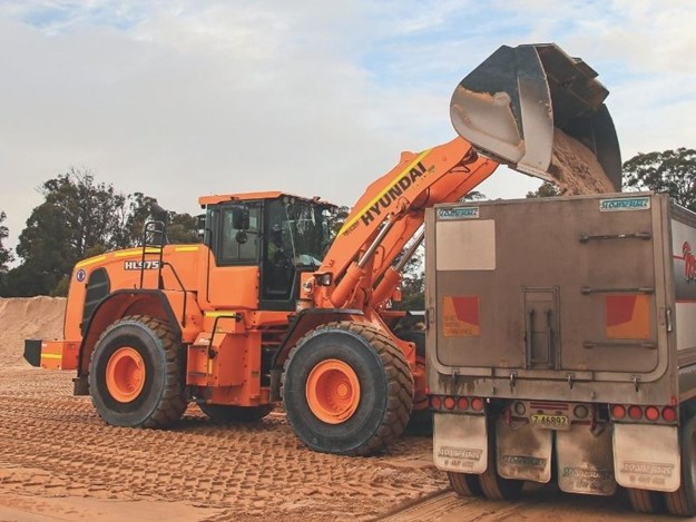 The Hyundai HL980 is at the top of Hyundai's wheel loader line-up