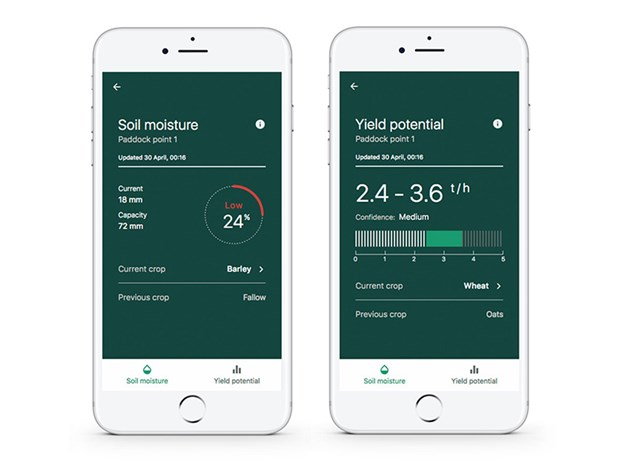 The Graincast app helps growers with their crop decision-making instincts