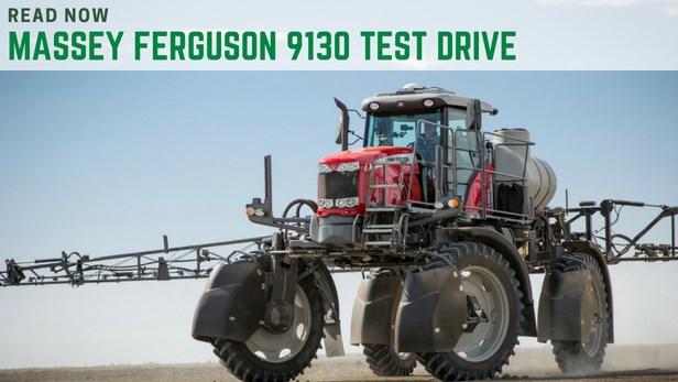 Massey ferguson 9130 test drive