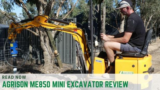 Agrison ME850 Mini Excavator