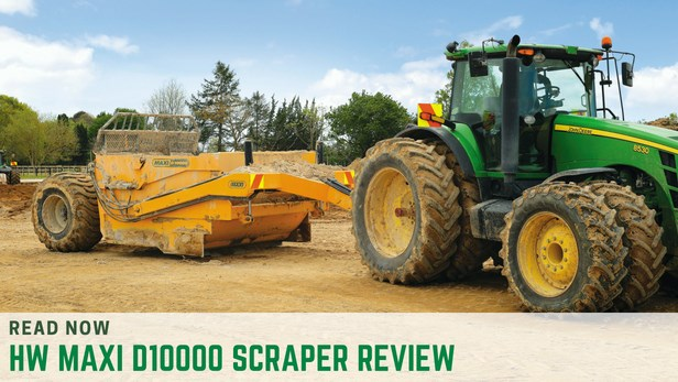 HW Maxi D10000 scraper