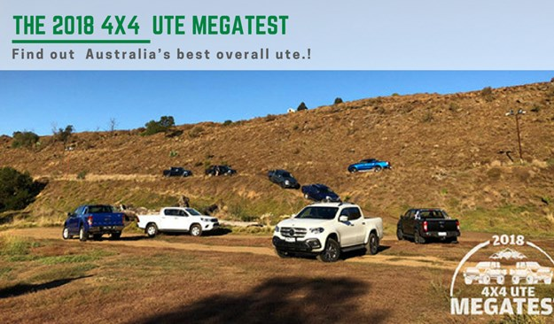 4x4 ute megatest - best utes of 2018