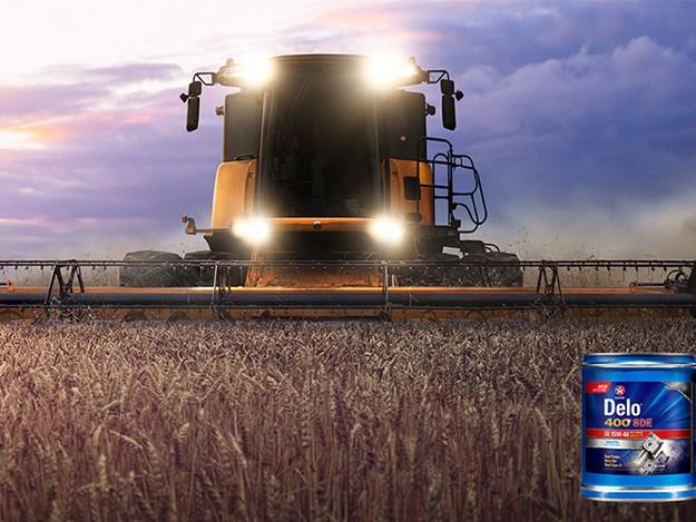 New Caltex Delo oil