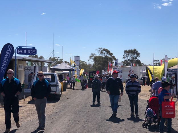 The crowds of AgQuip 2018