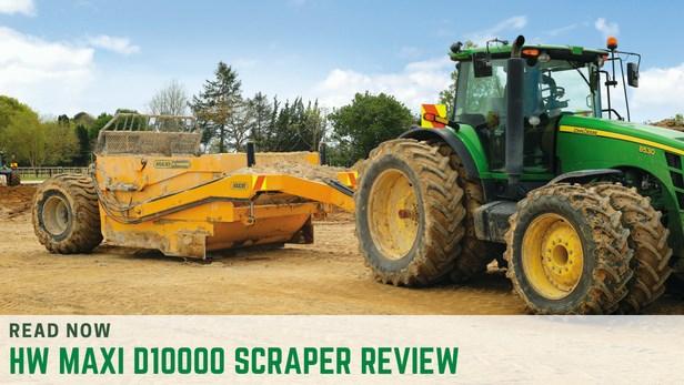 HW Industries MAXI D10000 scraper review