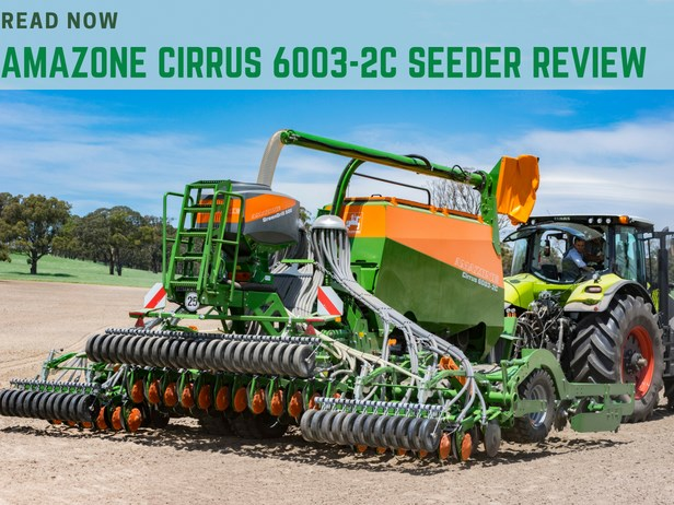 Amazone Pantera 4502-W self-propelled sprayer review