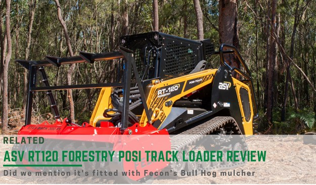ASV RT-120 Forestry Posi-Track