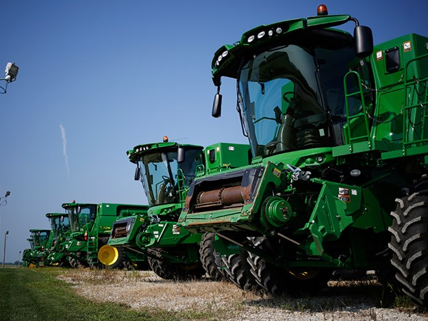 Sales of agricultural equipment dipped in August 2018