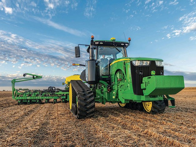 Model year 2019 8R/8RT Tractors are currently available to order from your local John Deere dealer