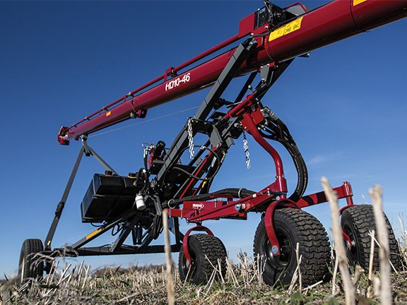 Grain Logic has a range of grain auger mover kits that can suit a variety of applications