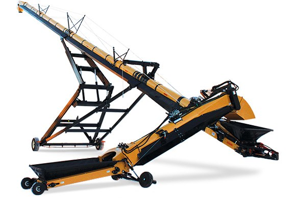 Grain Logic's auger product range includes conventional augers through to swing-away augers