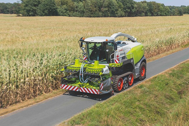 Claas launches Jaguar Terra Trac forage harvester   News