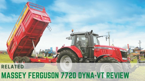Massey Ferguson 7720 Dyna-VT tractor review