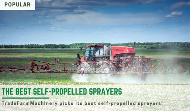 the best self propelled sprayers on the market