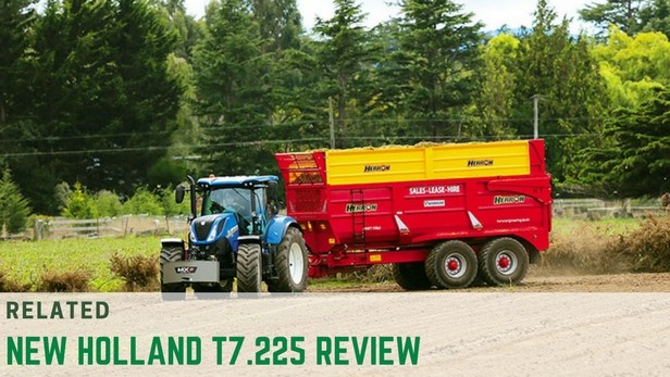 NEw Holland T7 review