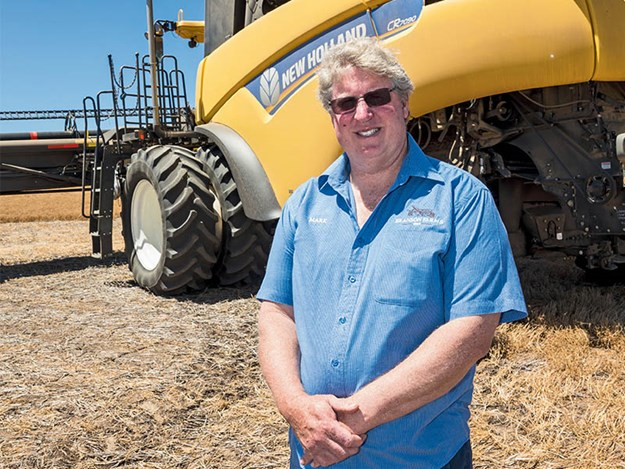 South Australian farmer Mark Branson