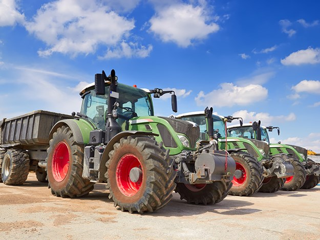 Tractor sales down 4 per cent on last year