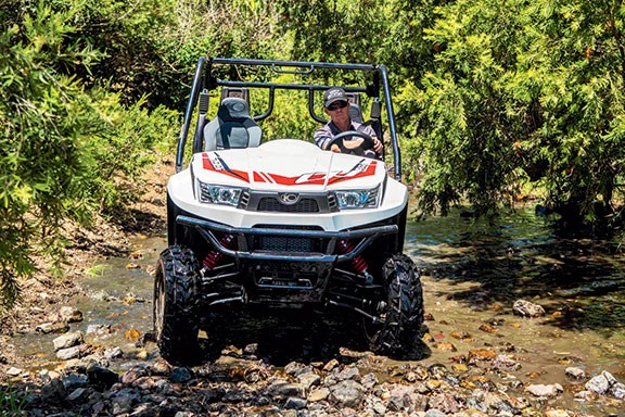 Kymco's new UXV700i side-by-side is a smart little package