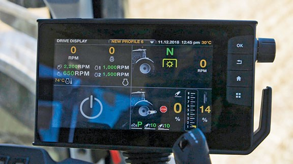 Valtra SmartTouch screen