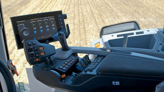 The Valtra SmartTouch armrest